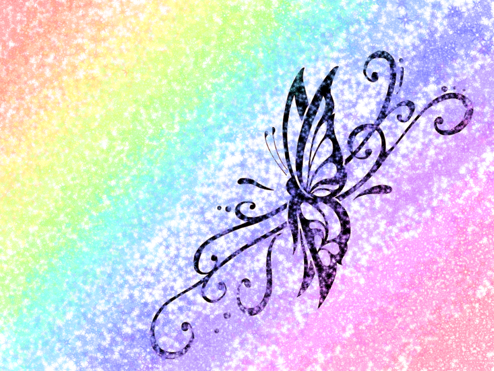 I drew this, on my iPad, and used a glitter pen over the top of it!
