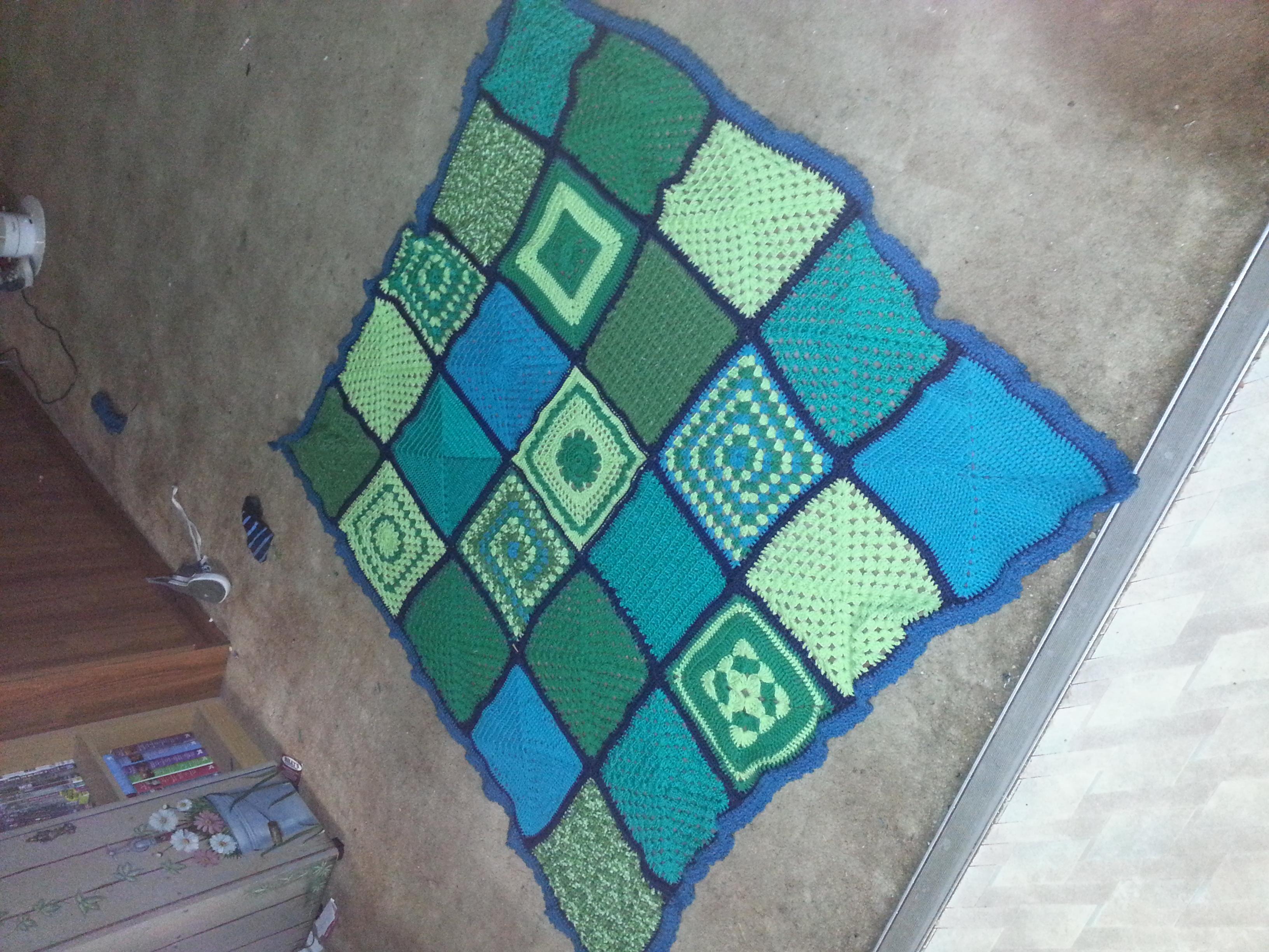 The blanket!