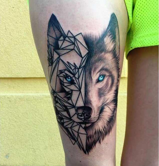 Geometric-Wolf-Face-Tattoo-on-Thigh.jpg